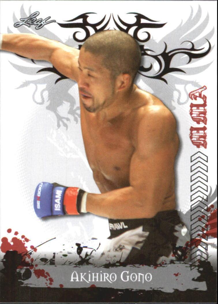 2010 Leaf MMA #76 Akihiro Gono