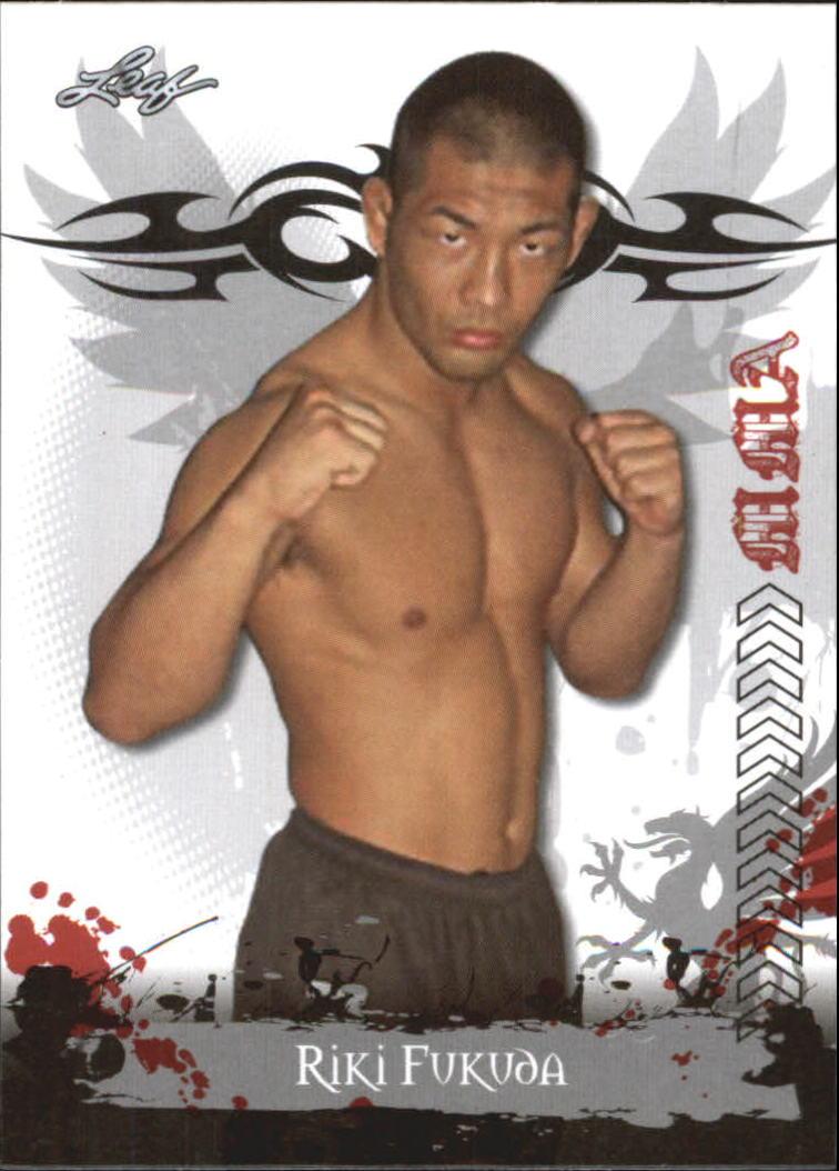 2010 Leaf MMA #78 Riki Fukuda