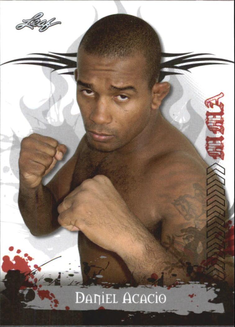 2010 Leaf MMA #79 Daniel Acacio