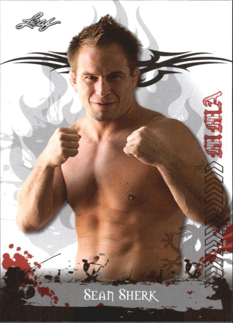 2010 Leaf MMA #80 Sean Sherk