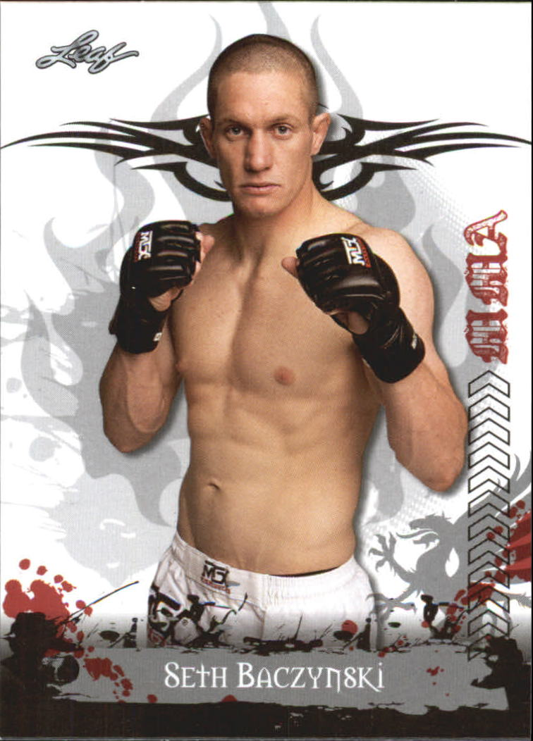 2010 Leaf MMA #82 Seth Baczynski