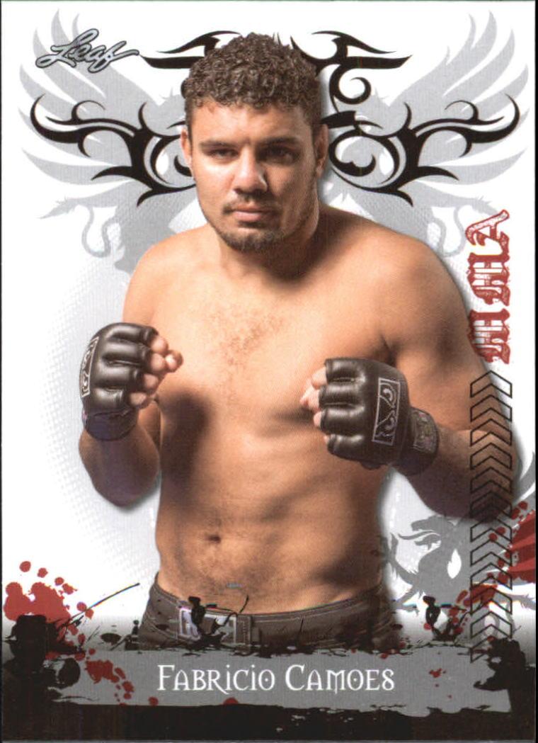 2010 Leaf MMA #84 Fabricio Camoes