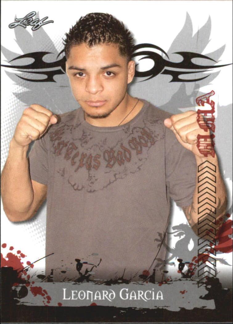 2010 Leaf MMA #87 Leonard Garcia