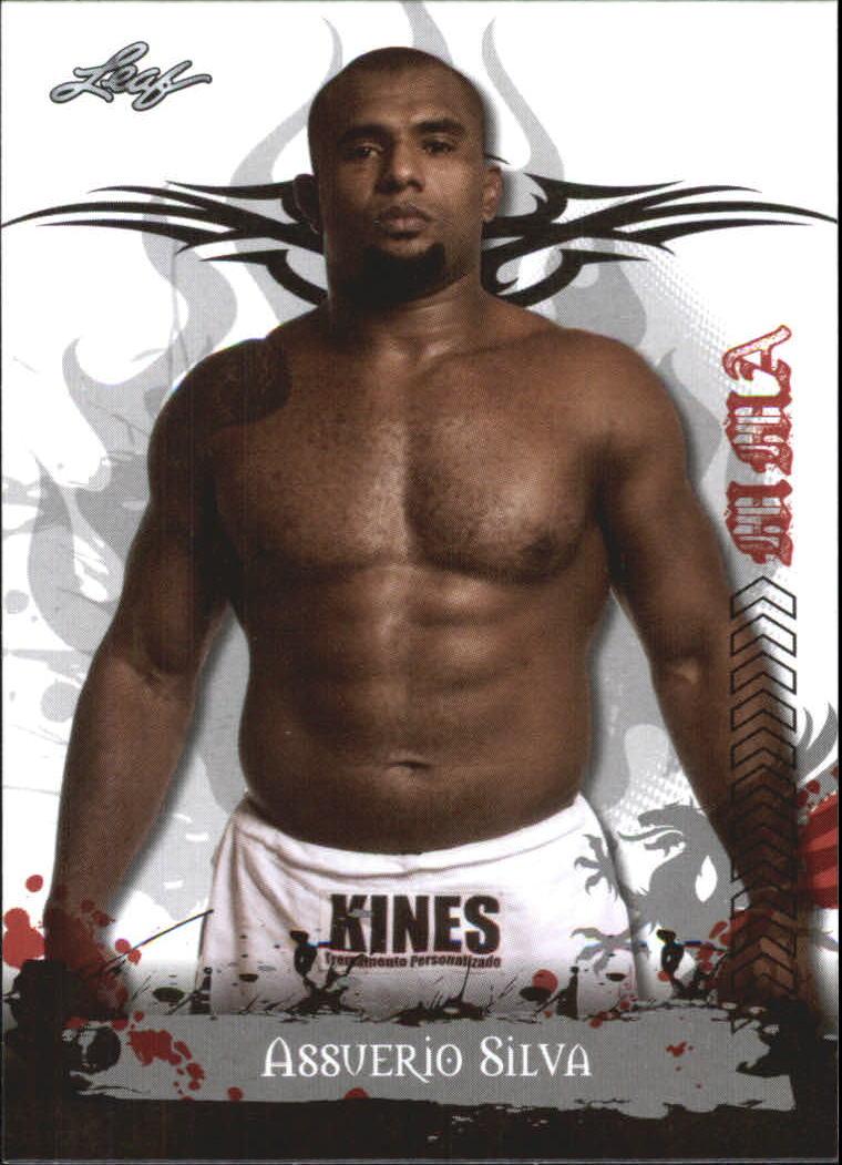 2010 Leaf MMA #89 Assuerio Silva