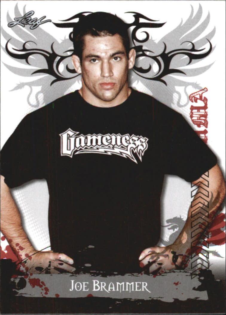 2010 Leaf MMA #92 Joe Brammer