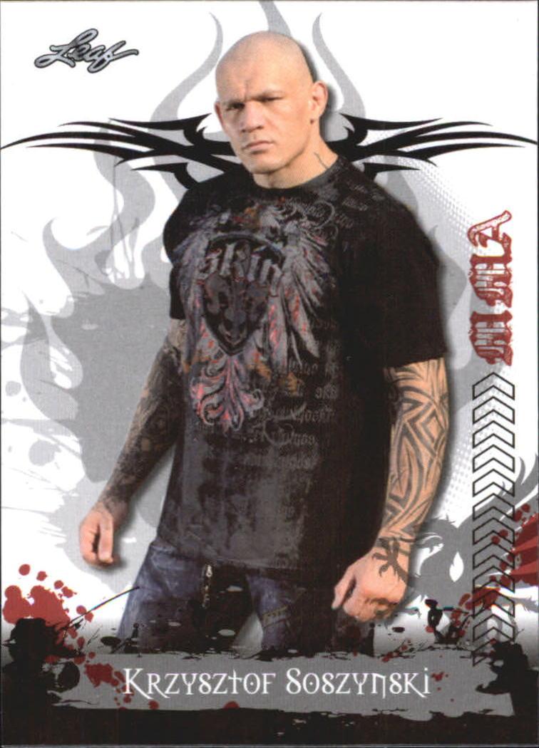 2010 Leaf MMA #97 Krzysztof Soszynski