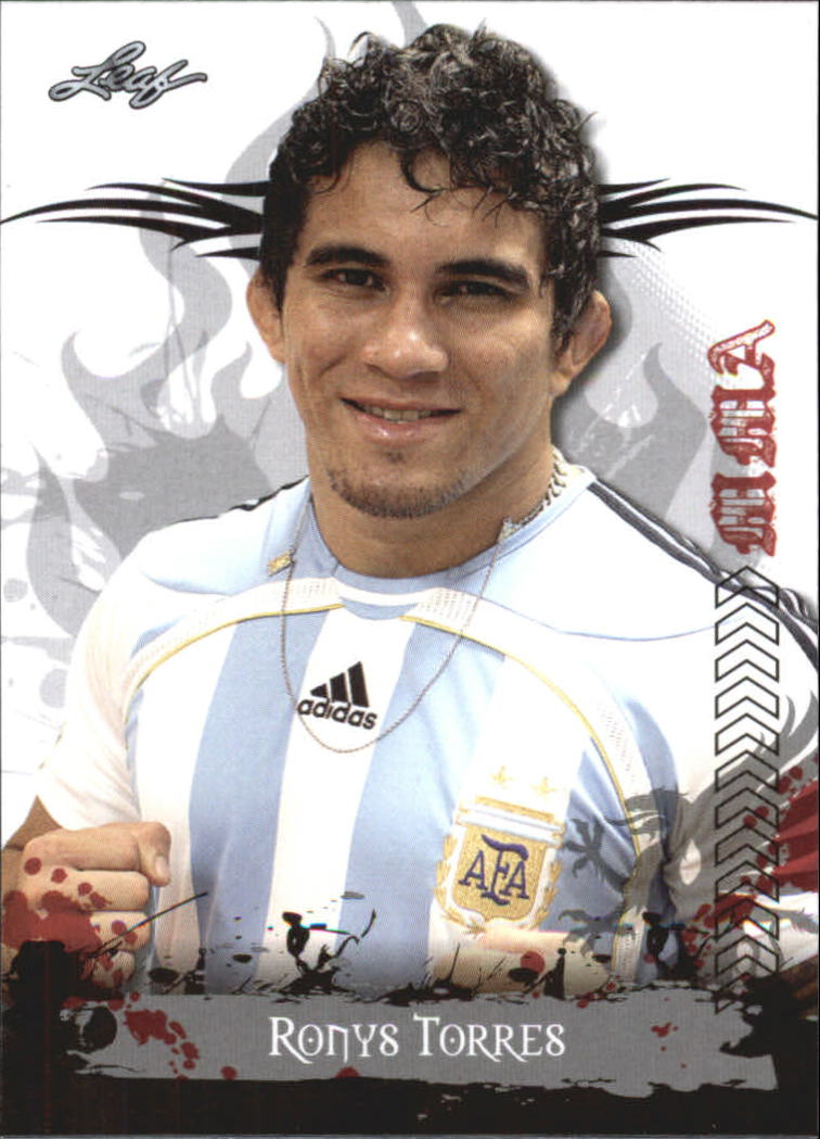 2010 Leaf MMA #98 Ronys Torres