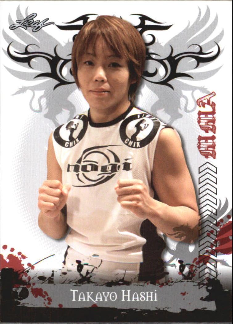 2010 Leaf MMA #99 Takayo Hashi
