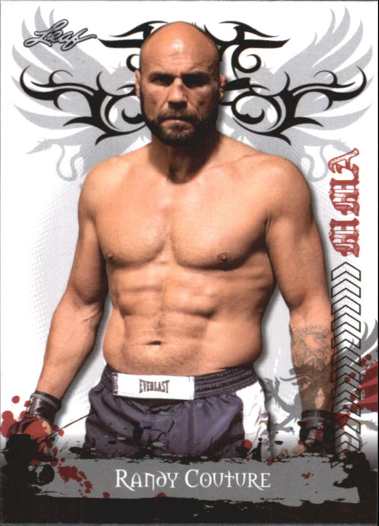 2010 Leaf MMA #100 Randy Couture