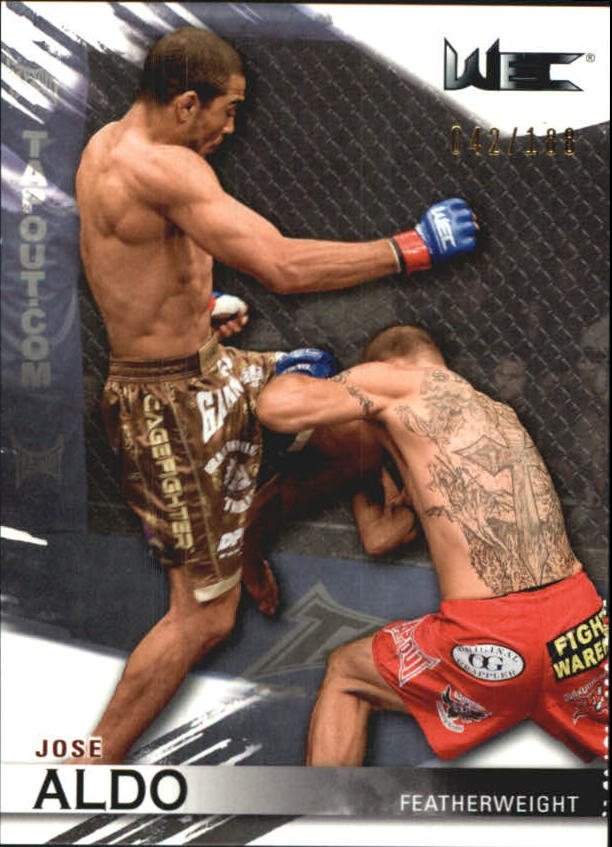 2010 Topps UFC Knockout Silver #120 Jose Aldo