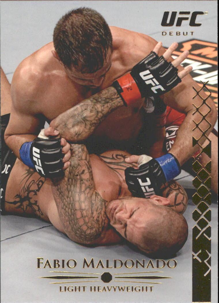 2011 Topps UFC Title Shot Gold #124 Fabio Maldonado