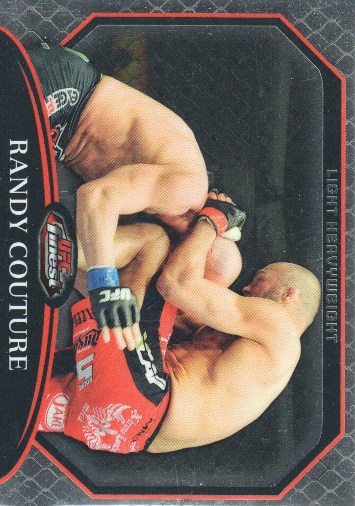 2011 Finest UFC #1 Randy Couture