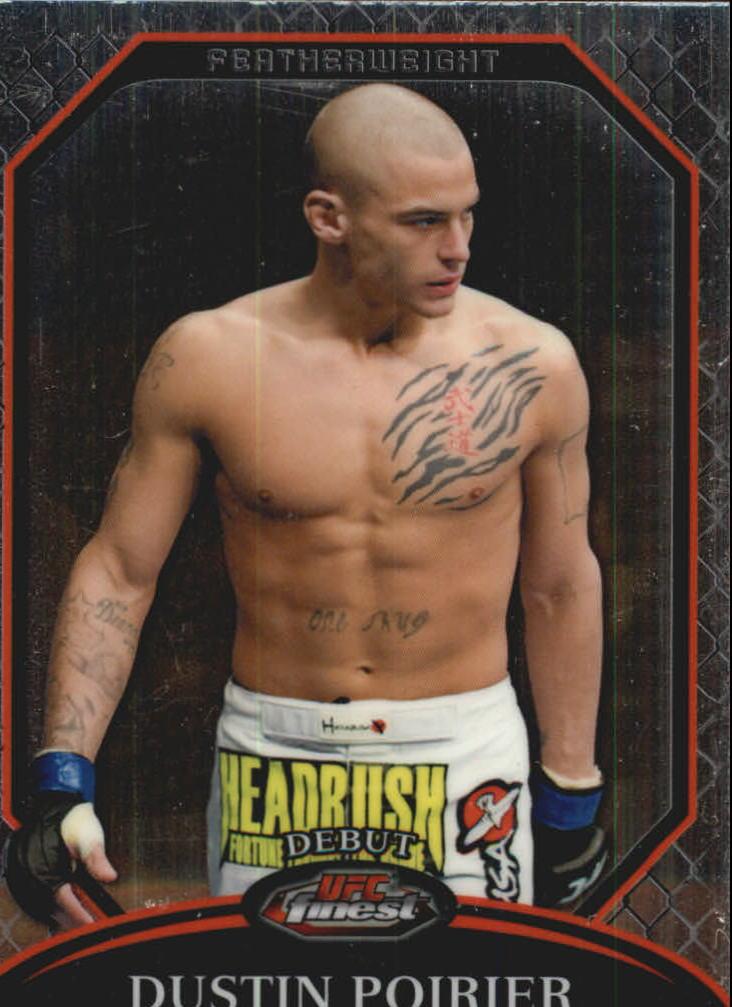 2011 Finest UFC #2 Dustin Poirier