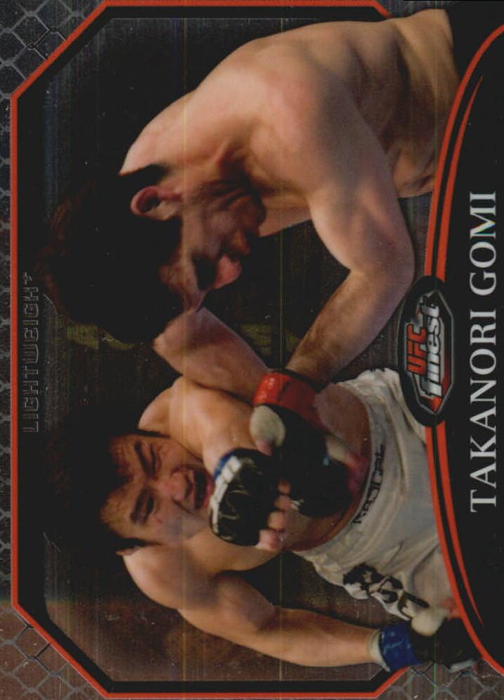 2011 Finest UFC #8 Takanori Gomi