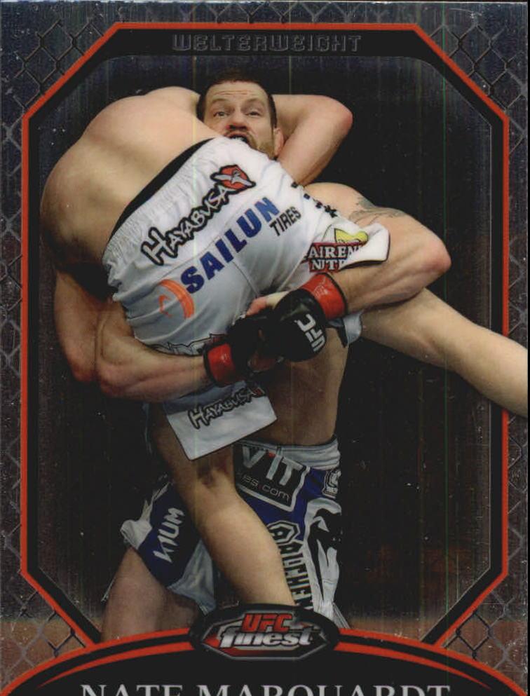 2011 Finest UFC #10 Nate Marquardt