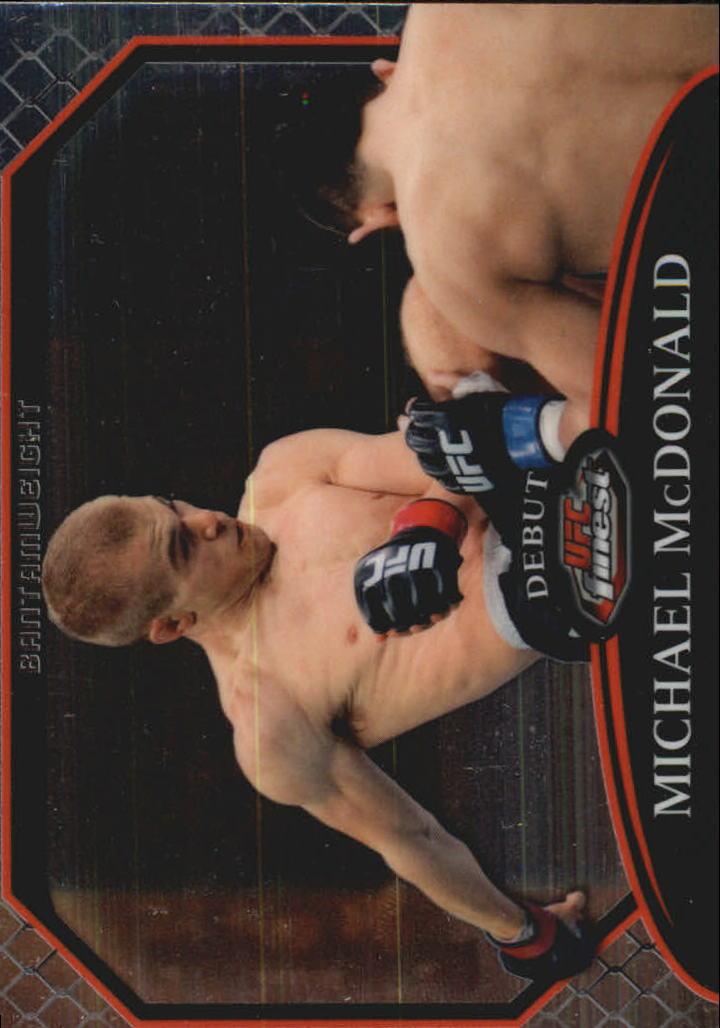2011 Finest UFC #13 Michael McDonald