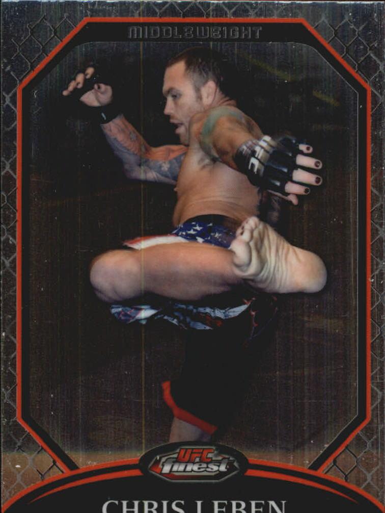 2011 Finest UFC #15 Chris Leben