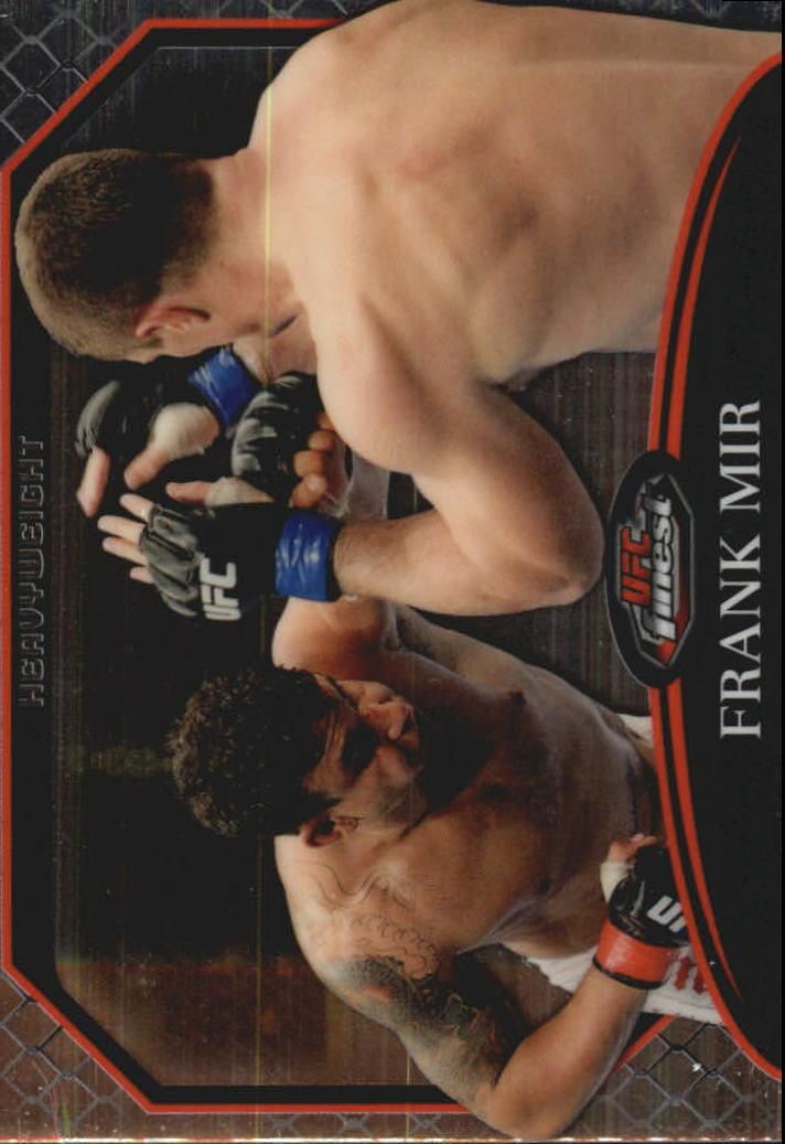 2011 Finest UFC #19 Frank Mir