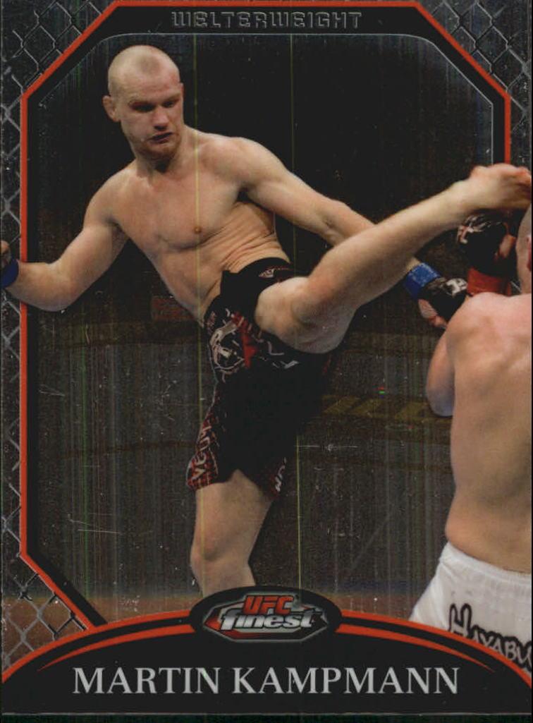 2011 Finest UFC #22 Martin Kampmann
