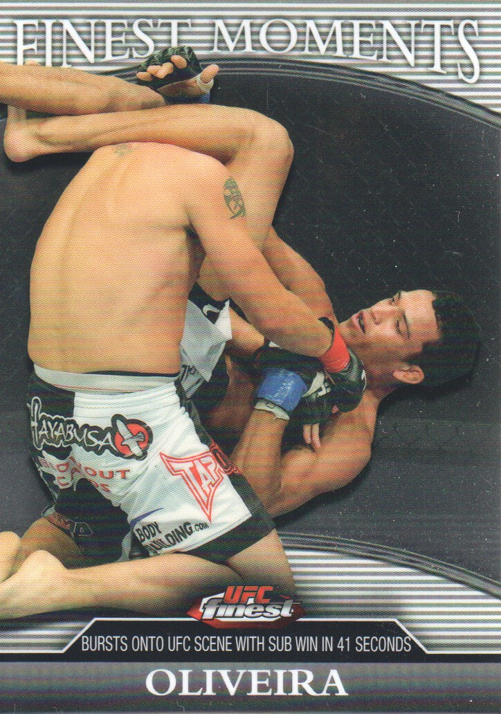 2011 Finest UFC Finest Moments #FMCO Charles Oliveira
