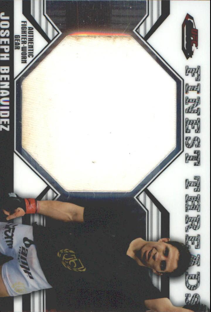 2011 Finest UFC Finest Threads Jumbo Fighter Relics #JRJB Joseph Benavidez