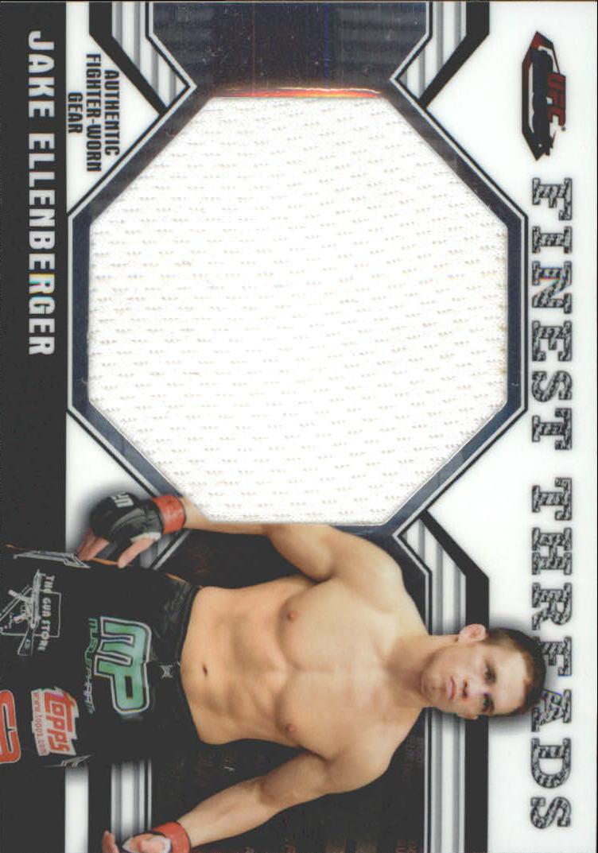 2011 Finest UFC Finest Threads Jumbo Fighter Relics #JRJE Jake Ellenberger