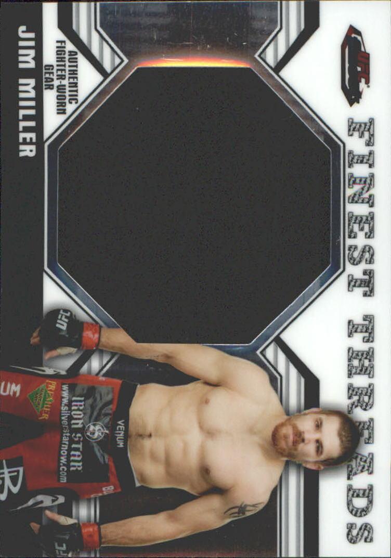 2011 Finest UFC Finest Threads Jumbo Fighter Relics #JRJM Jim Miller