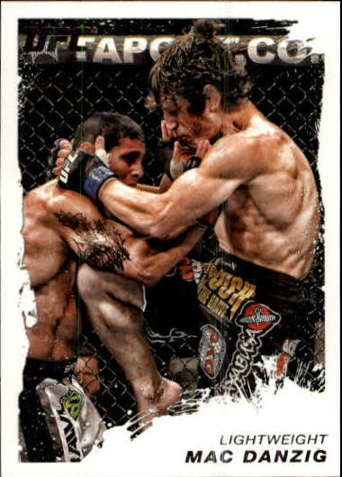2011 Topps UFC Moment of Truth #8 Mac Danzig