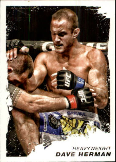 2011 Topps UFC Moment of Truth #23 Dave Herman