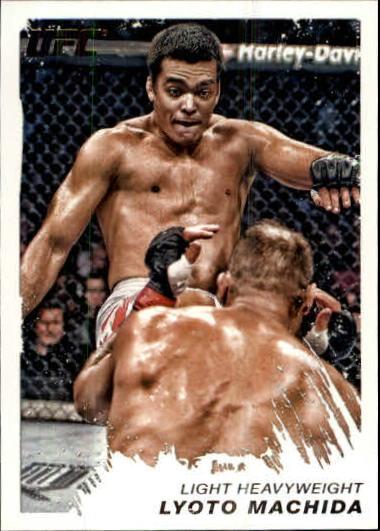 2011 Topps UFC Moment of Truth #29 Lyoto Machida