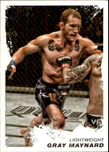 2011 Topps UFC Moment of Truth #46 Gray Maynard