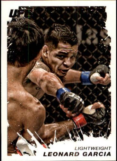 2011 Topps UFC Moment of Truth #67 Leonard Garcia