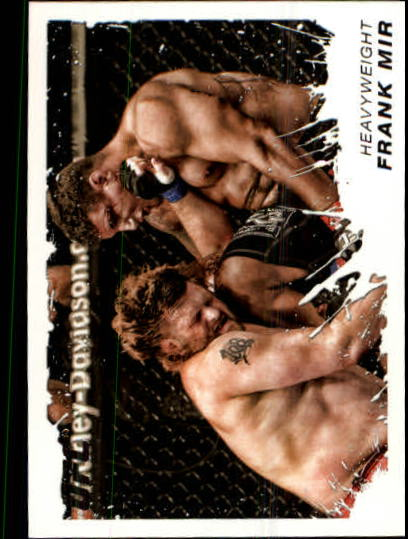2011 Topps UFC Moment of Truth #96 Frank Mir