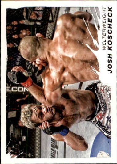 2011 Topps UFC Moment of Truth #102 Josh Koscheck