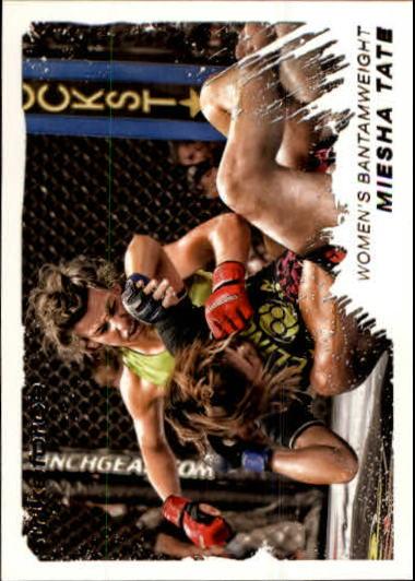 2011 Topps UFC Moment of Truth #129 Miesha Tate