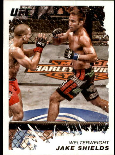 2011 Topps UFC Moment of Truth #136 Jake Shields