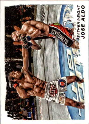 2011 Topps UFC Moment of Truth #154 Jose Aldo