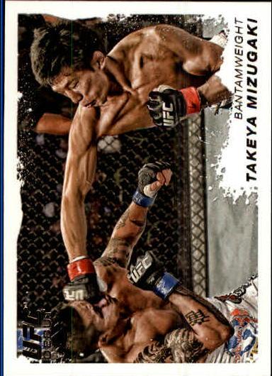 2011 Topps UFC Moment of Truth #161 Takeya Mizugaki