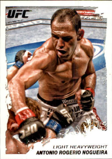 2011 Topps UFC Moment of Truth #169 Antonio Rogerio Nogueira