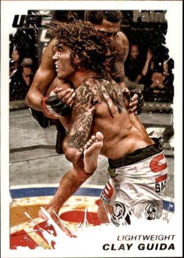 2011 Topps UFC Moment of Truth #186 Clay Guida