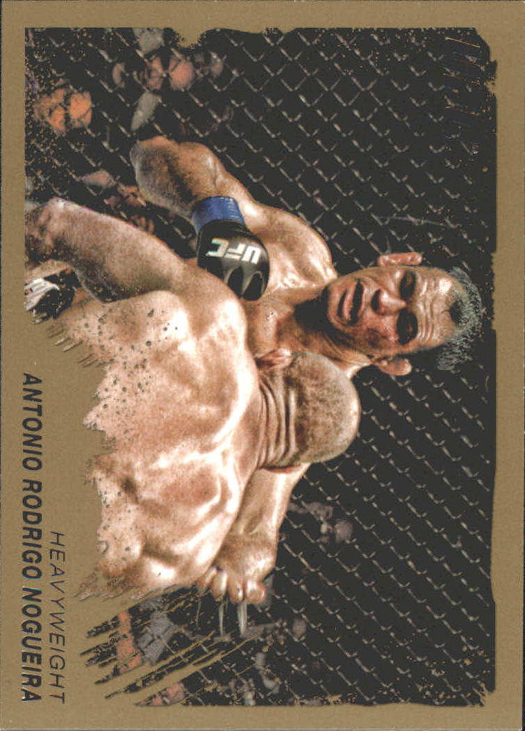 2011 Topps UFC Moment of Truth Gold #50 Antonio Rodrigo Nogueira