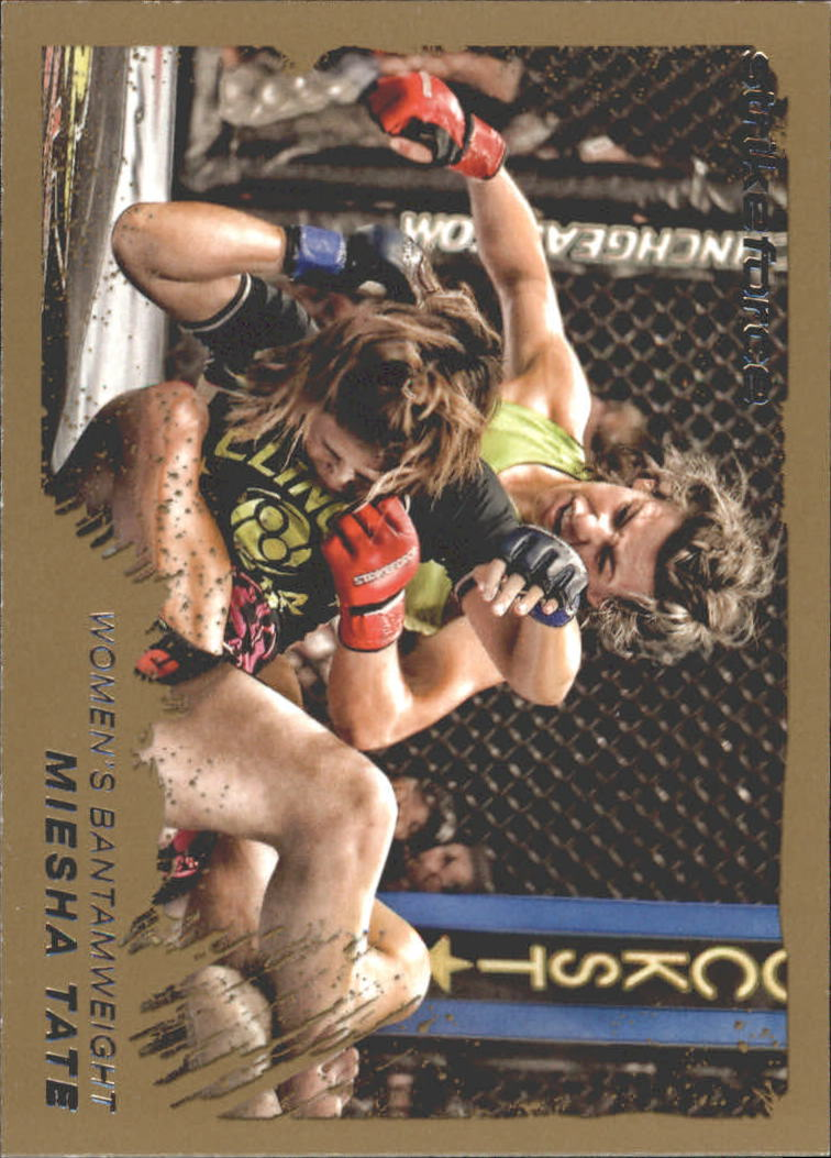 2011 Topps UFC Moment of Truth Gold #129 Miesha Tate