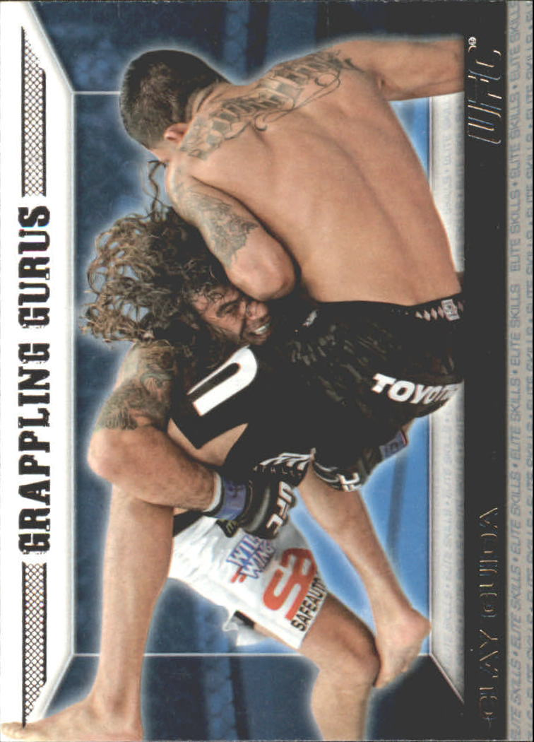 2011 Topps UFC Moment of Truth Elite Skills #ESCG Clay Guida GG