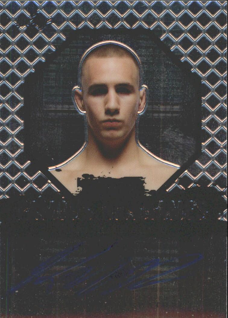 2011 Leaf MMA Metal Famous Nicknames Autographs #FNRM1 Rory MacDonald