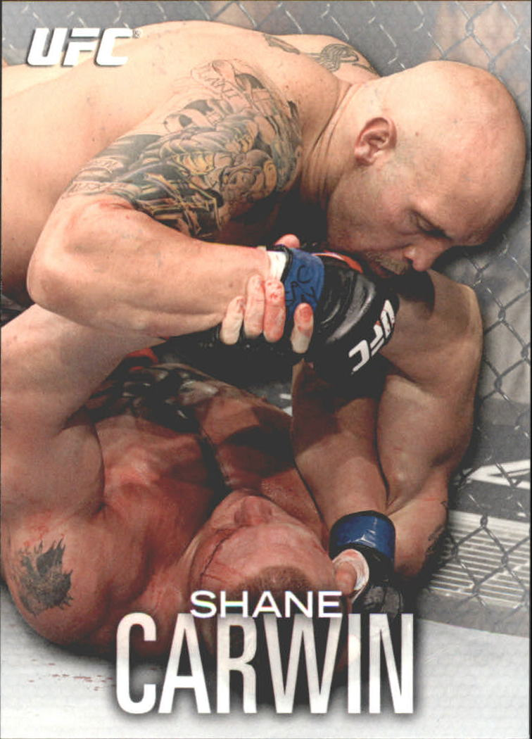 2012 Topps UFC Knockout #10 Shane Carwin