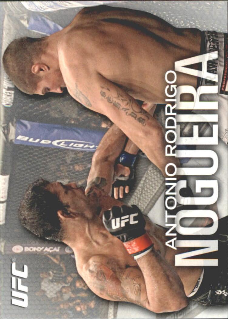 2012 Topps UFC Knockout #13 Antonio Rodrigo Nogueira