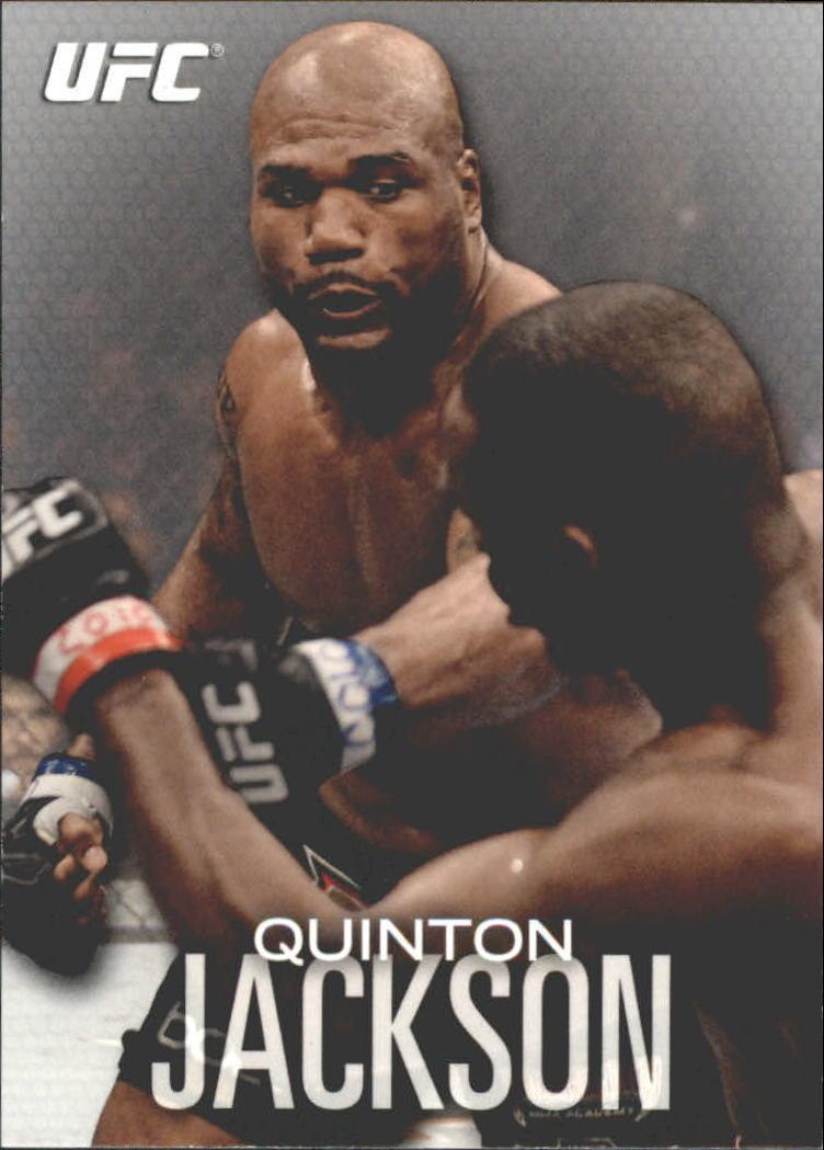 2012 Topps UFC Knockout #19 Quinton Jackson
