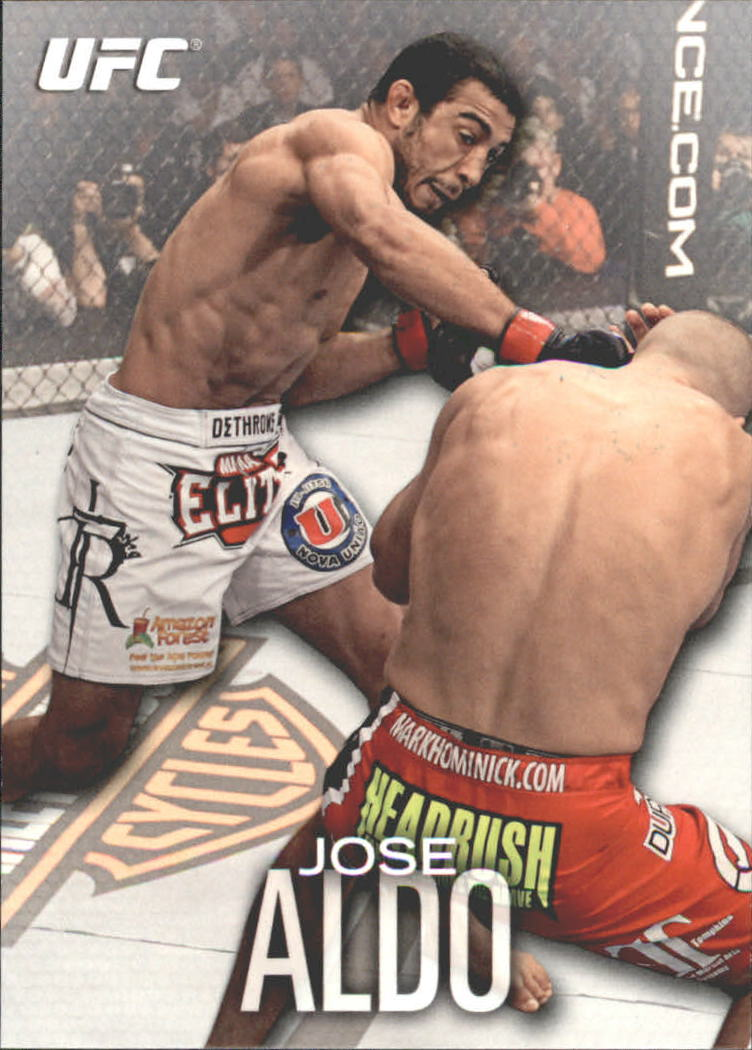 2012 Topps UFC Knockout #27 Jose Aldo