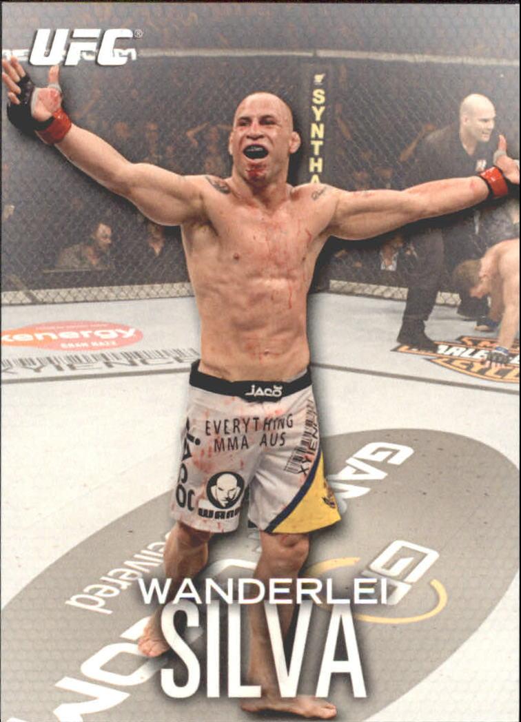 2012 Topps UFC Knockout #48 Wanderlei Silva