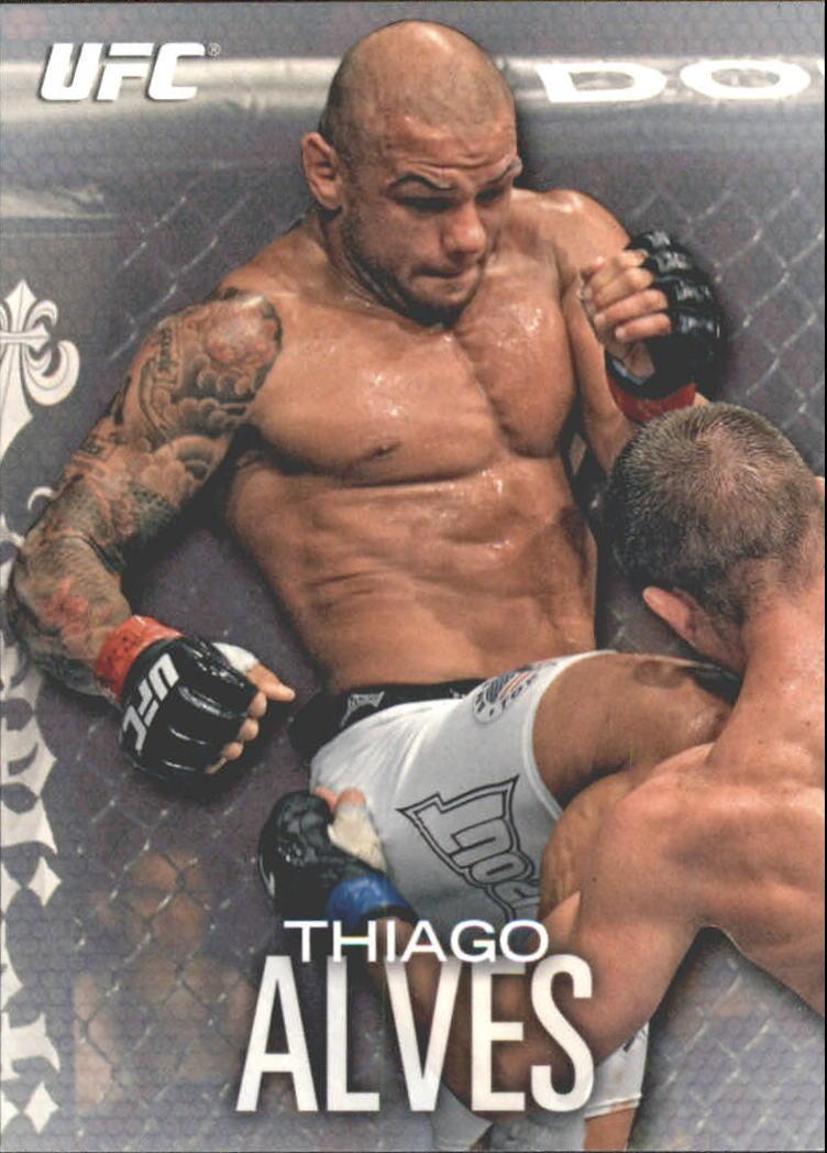 2012 Topps UFC Knockout #58 Thiago Alves